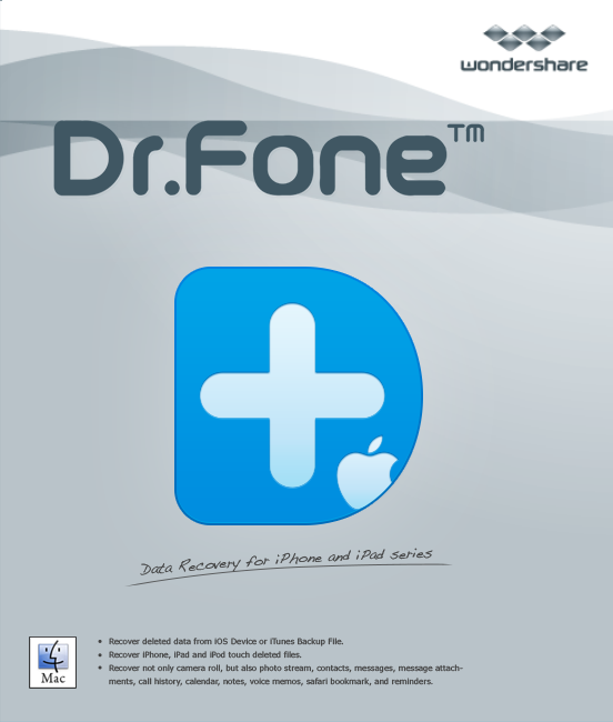 Wondershare Dr.Fone for iOS (Mac) - iPhone Data Recovery Software [Download] (Ios Software compare prices)