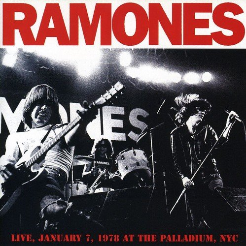 CD : The Ramones - Live January 7 1978 at the Palladium NYC (United Kingdom - Import)