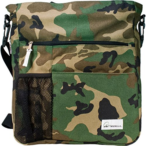 Amy Michelle Lexington Diaper Bag, Camo - 1