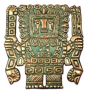 Copper mask, 'The Creator'