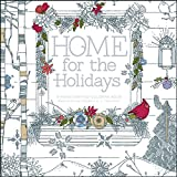 img - for Home for the Holidays: A Hand-Crafted Adult Coloring Book book / textbook / text book