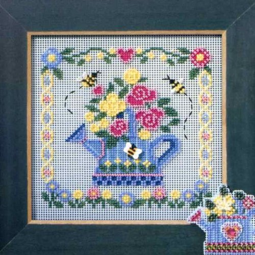 Watering Can (beaded kit)