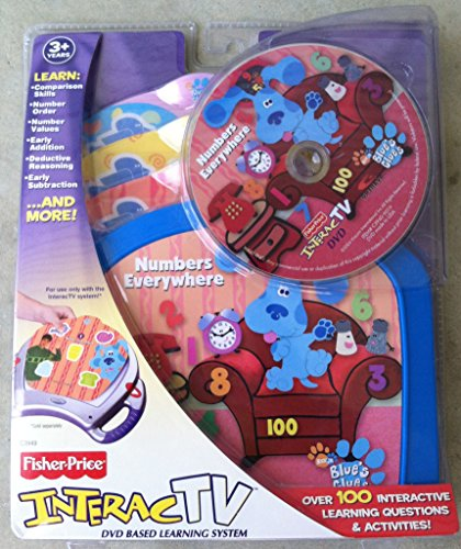 Interact TV DVD Blues Clues Numbers Everywhere (Blues Clues Numbers compare prices)