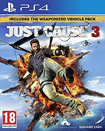 Just Cause 3 Exclusive Edition with Guide to Medici (PS4)