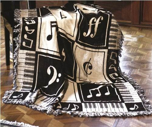 Musical themed bedding and bedroom decor - Music notes comforter ...