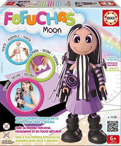 Educa Borras - Fofuchas Moon muñeca creativa (16116)