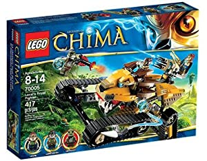Lego Legends Of Chima - Playthèmes - 70005 - Jeu de Construction - Le Chasseur Royal de Laval