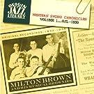 Western Swing Chronicles, Volume 1: Original Recordings 1932-1936