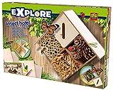 Explore - Hotel para insectos, multicolor (SES 25008)