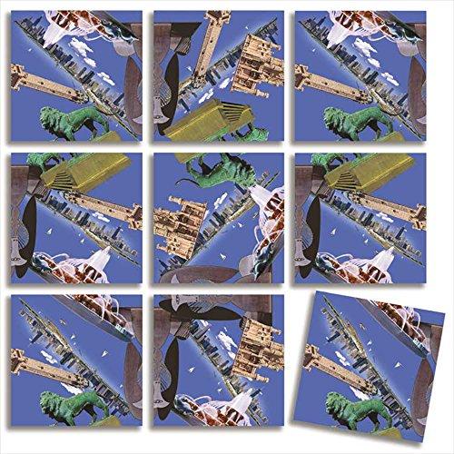 B Dazzle Chicago! Scramble Squares 9 Piece Puzzle - 1