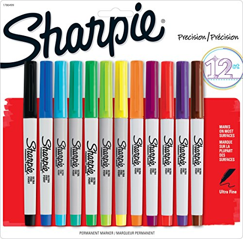 sharpie-ultra-fine-permanente-lot-de-12-marqueurs-a-glacage-113-g