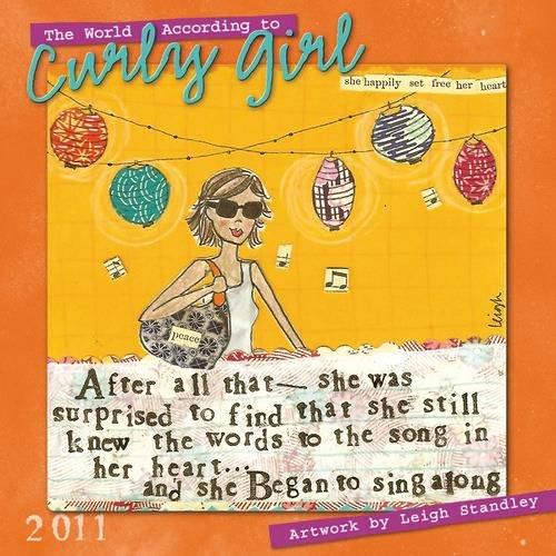Curly Girl 2011 Wall Calendar