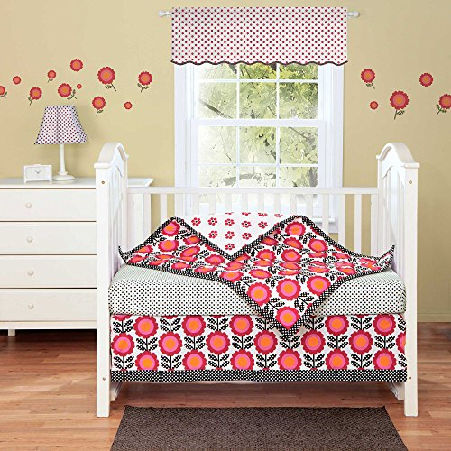 Poppy 3 Piece Baby Crib Bedding Set by Bananafish