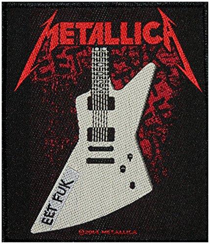 Metallica Patch EET FUK Patch Woven 9Ã'x 10Ã'cm by Pain-is-Art