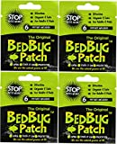 The Original Bed Bug Patch Repellant, 6 count (pack  of 4)