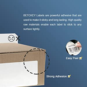 BETCKEY - Compatible DK-2225 Continuous Length 1-1/2 x 100'(38mm x 30.48m) Replacement Labels,Compatible with Brother QL Label Printers [1 Rolls with Refillable Cartridge Frame] (Color: 01-rolls)