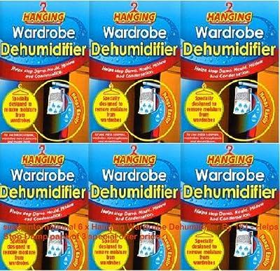 6 x Wardrobe Dehumidifier