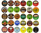 Coffee, Tea, and Hot Chocolate Variety Sampler Pack for Keurig K-Cup Brewers, 30 Count