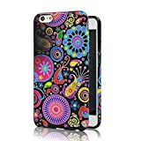 iPhone 6 Plus Case, Ludan Painted Series Soft TPU Super Lightweight Protective Jellyfish Bumper Back Case for 5.5 inches iPhone 6 Cover