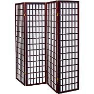 Coaster Oriental Style 4-Panel Room S…