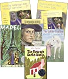 img - for Learning Language Arts Through Literature: Yellow Book Complete Kit (Teacher's Book, Student Book, 4 Reading Books) book / textbook / text book