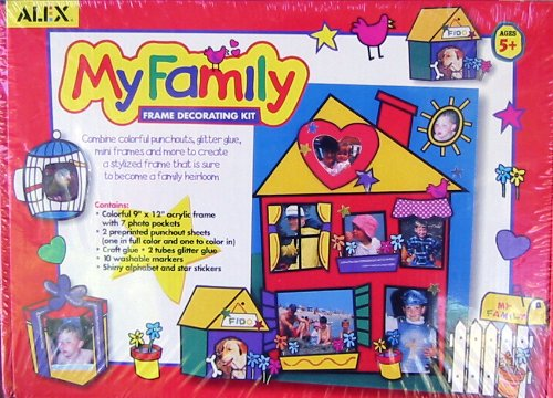 My Family Frame Decorating Kit