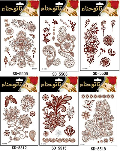 adecco-llc-6pc-fashion-flash-waterproof-tattoo-women-red-ink-henna-jewel-sexy-lace-flower-pendant-we