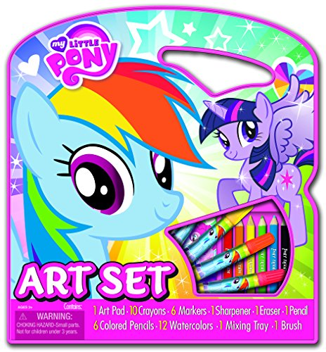 Bendon My Little Pony Art Tote Activity Set, 1