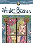 Creative Haven Winter Scenes Coloring...