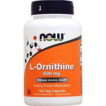 L-Ornithine - 500 mg - 120 Caps