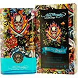 Ed Hardy Hearts and Daggers by Christian Audigier Eau-de-toilette Spray for Men, 3.40-Ounce
