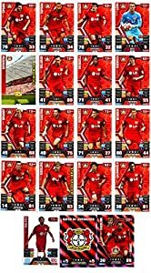 Match Attax Bundesliga 2014 2015 - 19 Karten-Set Bayer 04 Leverkusen Clubkarte Kapitän Duo-Karte - Deutsch