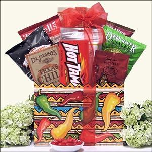 Hot & Spicy Fiesta: Gourmet Gift Basket from GreatArrivals Gift Baskets