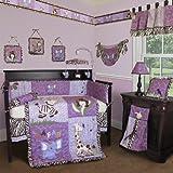 Custom Baby Girl Boutique -Safari 13 PCS Crib Bedding