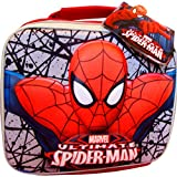 Boys Ultimate Spiderman Magic 3D School Lunch Travel Bag