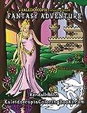 img - for Fantasy Adventure: A Kaleidoscopia Coloring Book book / textbook / text book