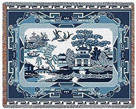 Willow Blue Throw - 54 x 70 BlanketThrow