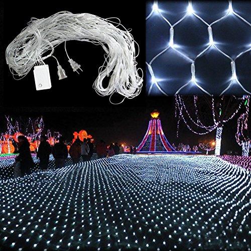 White 200 LED Net Mesh Decorative Fairy Lights