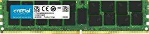 Crucial Bundle with 128GB (4 x 32GB) DDR4 PC4-21300 2666MHz RDIMM (4 x CT32G4RFD4266), Dual Ranked Registered ECC Memory (Tamaño: 128GB (4 x 32GB) DDR4 2666MHz)