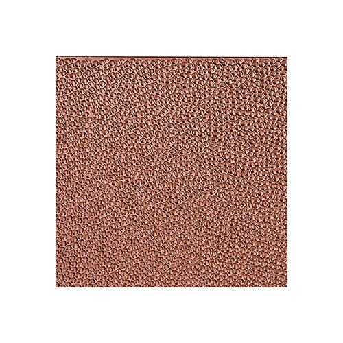 Fasade - Hammered Argent Copper Decorative Wall Panel - Fast and Easy Installation (12