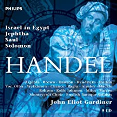 Handel Israel In Egypt