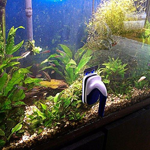 Kedsum handle design magnet aquarium cleaner glass for White algae in fish tank