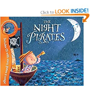 Night Pirates (Book & CD)