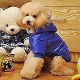 Generic Small Pet Dog Winter Warm Cotton Coat Fur Hoody Padded Down Jacket