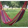 XINW Haengematte Mehrpersonen Aufhaengeset faltbar Belastbarkeit bis 150kg für Camping Reisen und Outdoor von XINW - Gartenmöbel von Du und Dein Garten