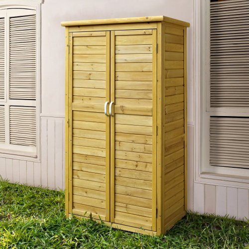 Coral Coast 5 x 3 ft. Garden Shed