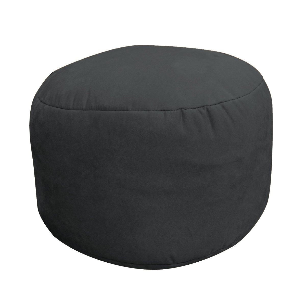 Soft Suede Luxe Bean Bag  Bigfoot Footstool
