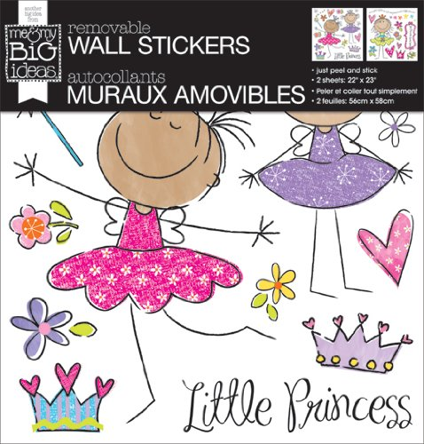 me & my BIG ideas Removable Wall Sticker, Princess