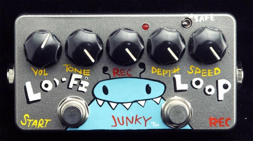 ZVex Effects Hand-Painted LO-FI Loop Junky Guitar Effects Pedal