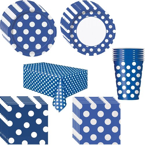 Polka Dot Baby Shower Supplies back-1080976